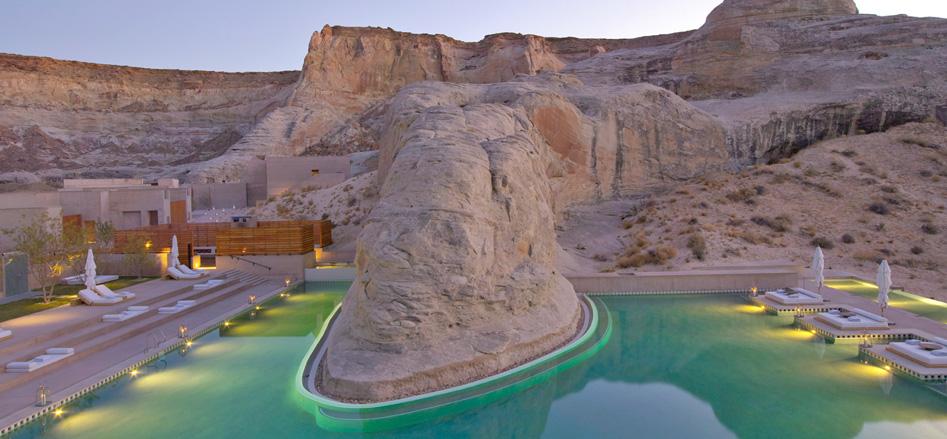 piscinas desierto
