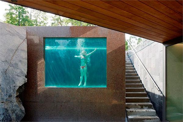 piscinas en forma de cubo