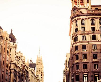 Piscina en la ciudad
