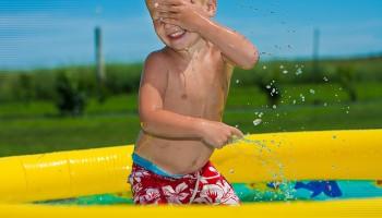 ¿Hasta cuándo dejar la piscina de los niños?