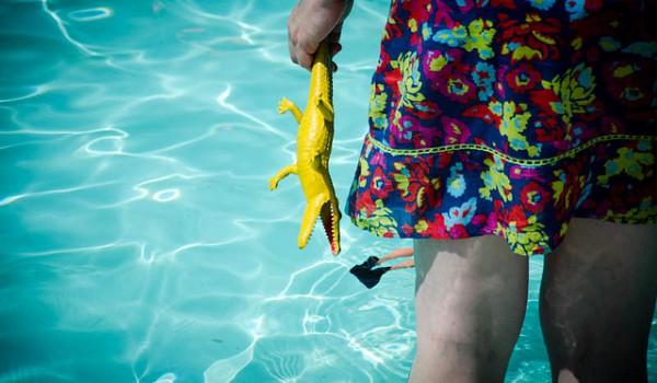 cuidados de piscina desmontable