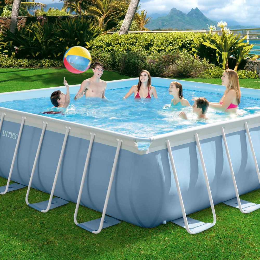 Piscinas desmontables de tendencia para este verano for Piscinas desmontables intex