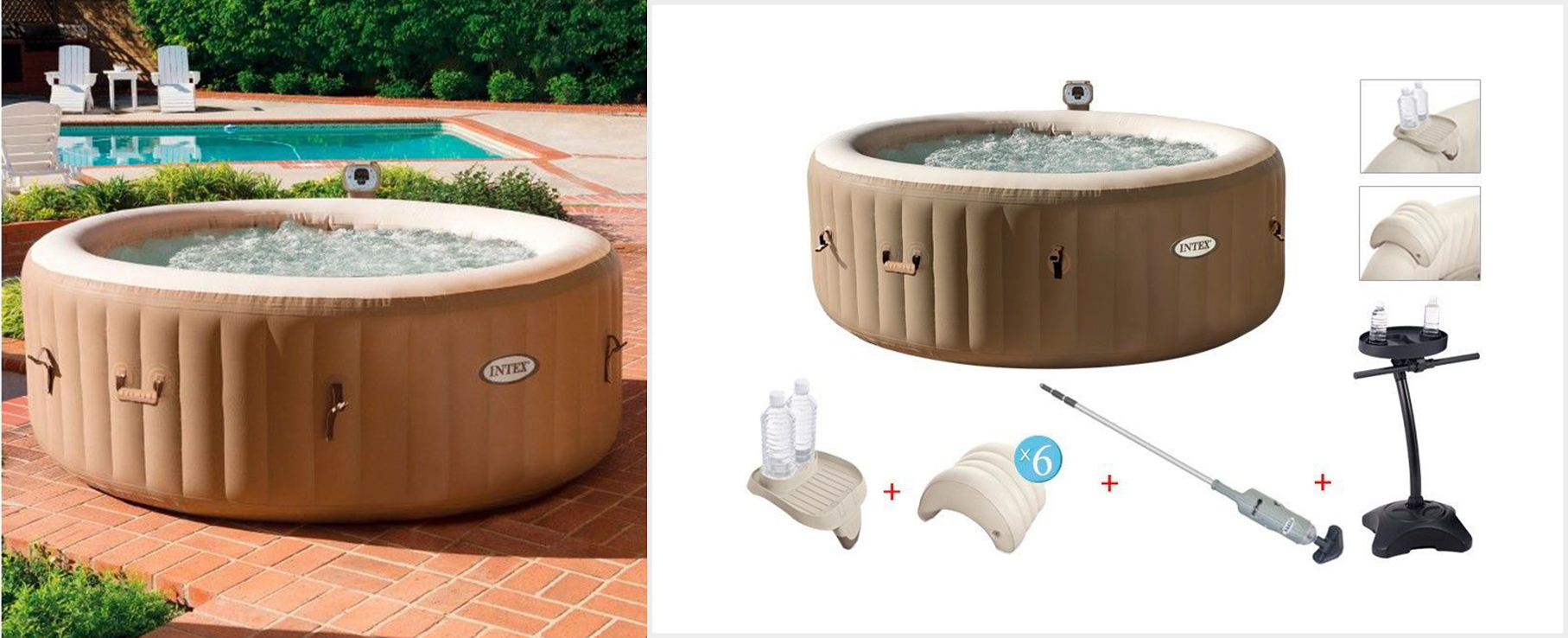 mejores balnearios España - Pack Spa Intex