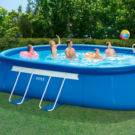 Qu necesito para tener una piscina desmontable en casa o for Que necesito para construir una piscina