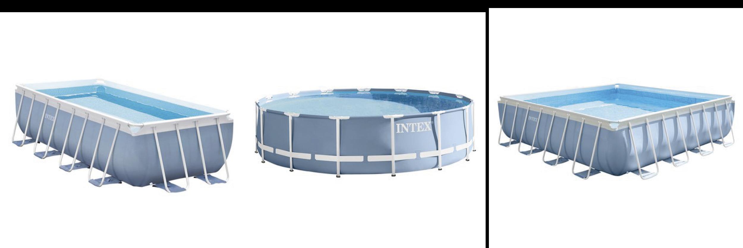 modelos de piscina INTEX