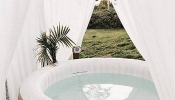 Cómo integrar el spa hinchable en tu terraza