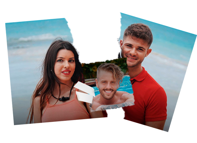 Andrea e Ismael La Isla de las Tentaciones