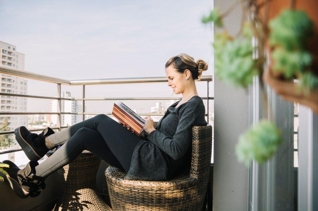leer al aire libre