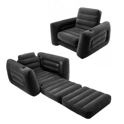 sillón cama hinchable