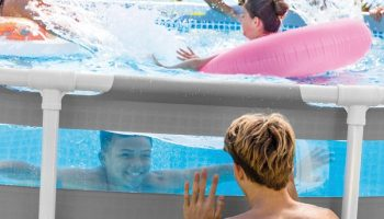 piscina prism frame clearview