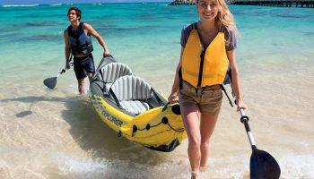 Documentación y recomendaciones para navegar en el mar con kayaks y barcas INTEX
