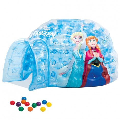 iglú hinchable frozen intex +12 bolas - 185x157x107 cm