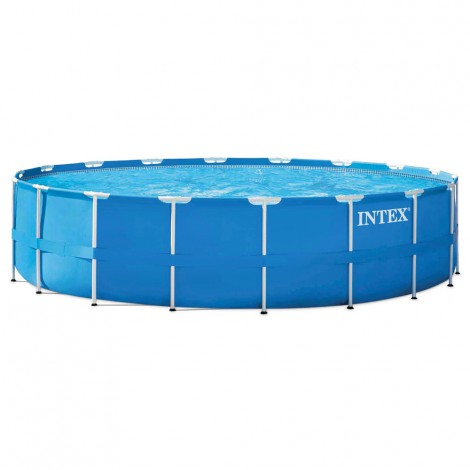 piscina desmontable intex metal frame 549x122 cm - 24.311 l