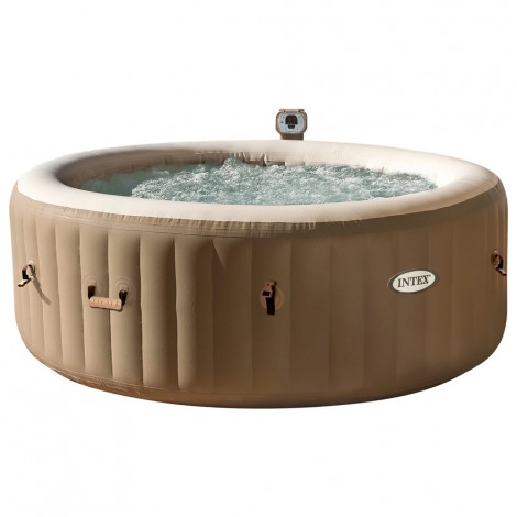 spa hinchable intex burbujas & crema - 4 personas - 795 l