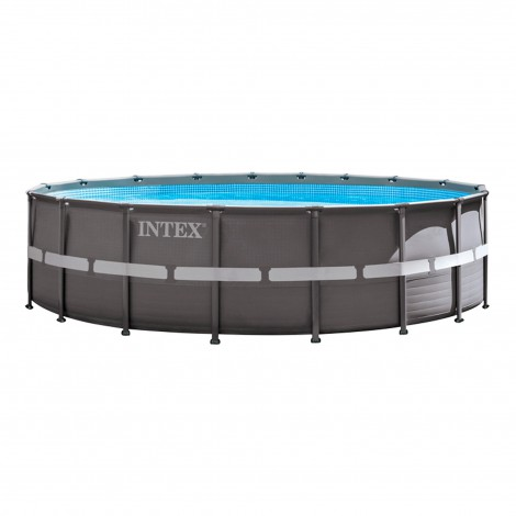 piscina desmontable intex -  ultra frame - 549x132 cm - 26.423 litros