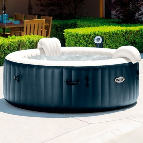 spa hinchable intex purespa plus burbujas 795 litros