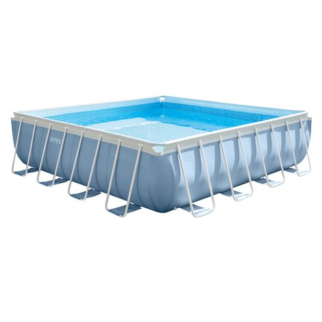 piscina desmontable intex & depuradora 427x107 cm - 16.700 l