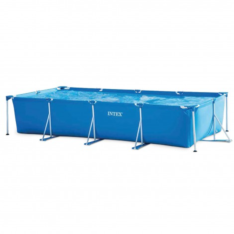 piscina desmontable tubular intex 450x220x84 cm - 7.127 l.