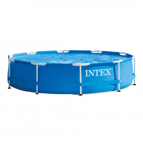 piscina desmontable intex metal frame - 305x76cm – 4485 litros