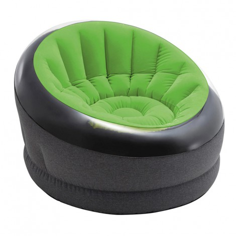 sillón hinchable empire verde lima
