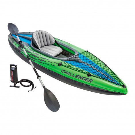 kayak hinchable challenger k1 intex 274x76x33 cm
