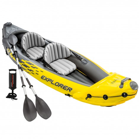 kayak hinchable explorer k2 intex 312x91x51 cm