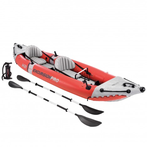 kayak hinchable excursion pro intex 384x94x46 cm