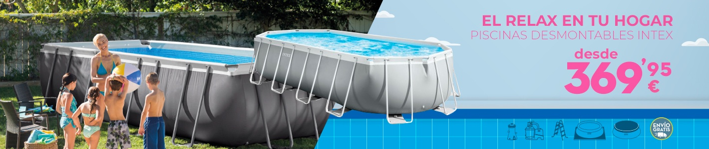 Piscinas acc piscinas productos hinchables intex for Carrefour piscinas intex